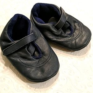 HANNA ANDERSSON Navy blue leather shoes